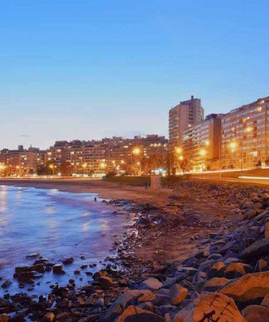 River Plate, Montevideo, Uruguay