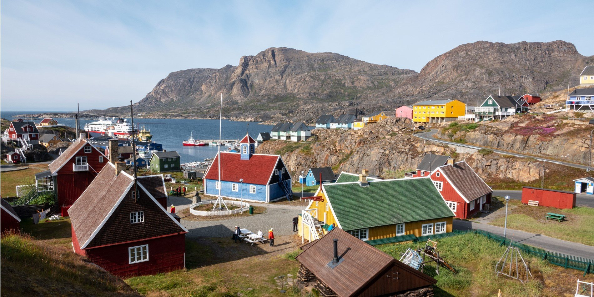 View over Sisimiut.