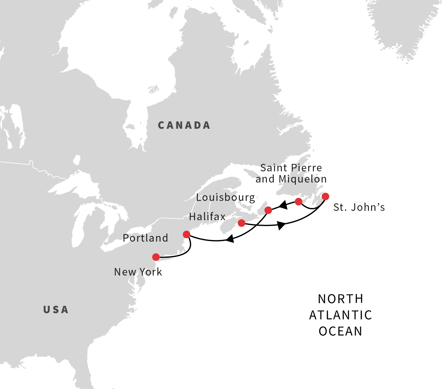 North America Cruises Exploring Eastern Canadas Coast