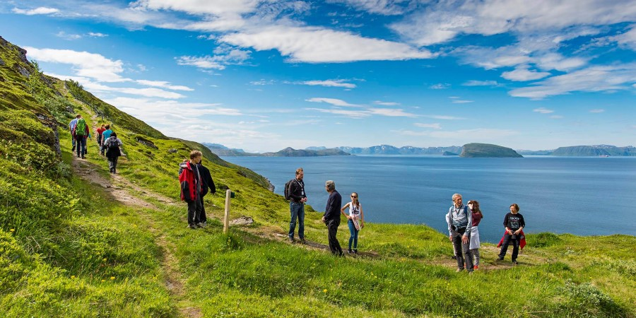 Go on a mountain hike in Hammerfest