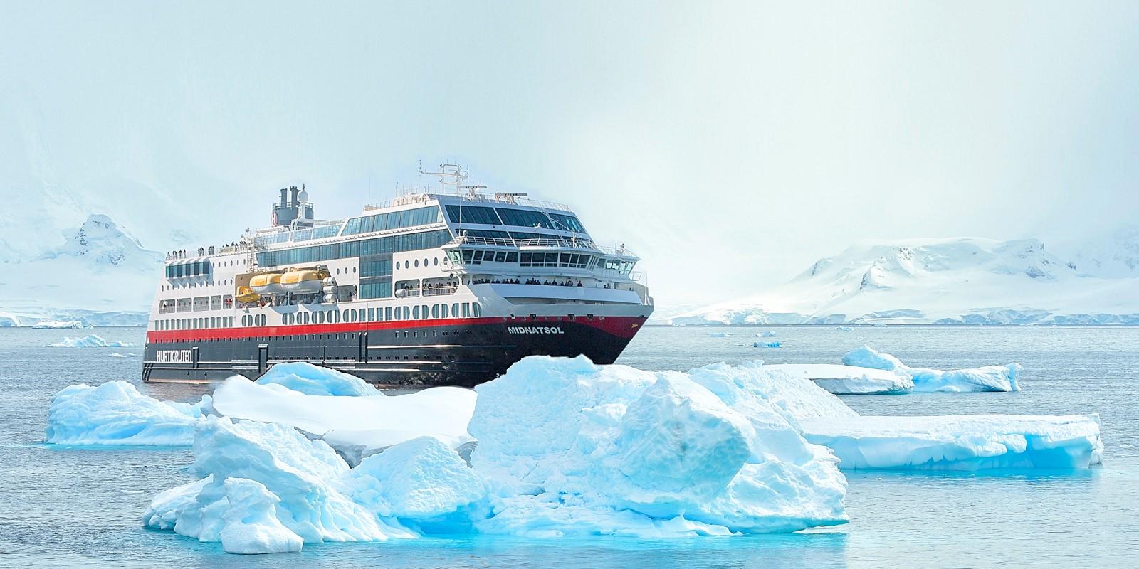 Bilderesultat for ms midnatsol antarktis