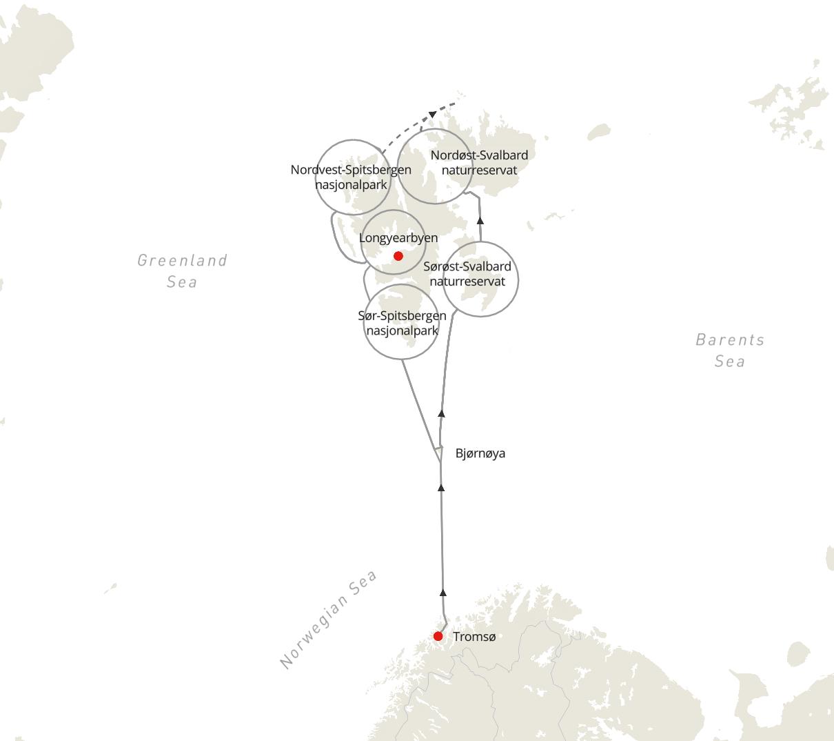 Tromsø - Svalbard - Tromsø